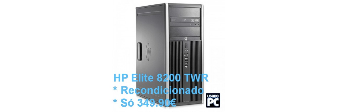 HP Elite 8200 TWR * Recondicionado * Só 349.90€