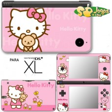 Capa Vinil p/ DSi XL -Hello Kitty