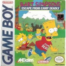 GB-Bart Simpson's Escape From Camp Deadly *USADO*