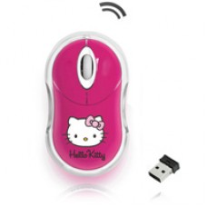 HELLO KITTY MOUSE PINK WIRELESS
