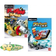 PC-2 Games Lego Island Xtreme Stunts + Football Mania