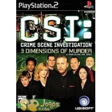 PS2 - CSI Crime Scene Investigation 3 Dimensions Of Murder *USADO*