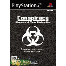 PS2 - Conspiracy Weapons Of Mass Destruction *Usado*