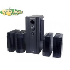 Soundstation 4 Speakers System Black