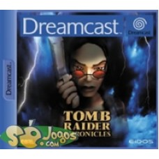 DREAMCAST-Tomb Raider Chronicles *Usado*