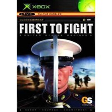 XBOX- First to Fight united states marines *usado*