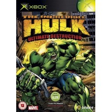 XBOX- The incredible HULK ultimate destroction *usado*